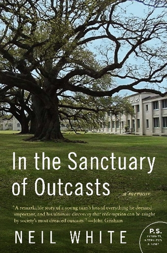 book cover for In The Sanctuary of Outcasts by Neil White