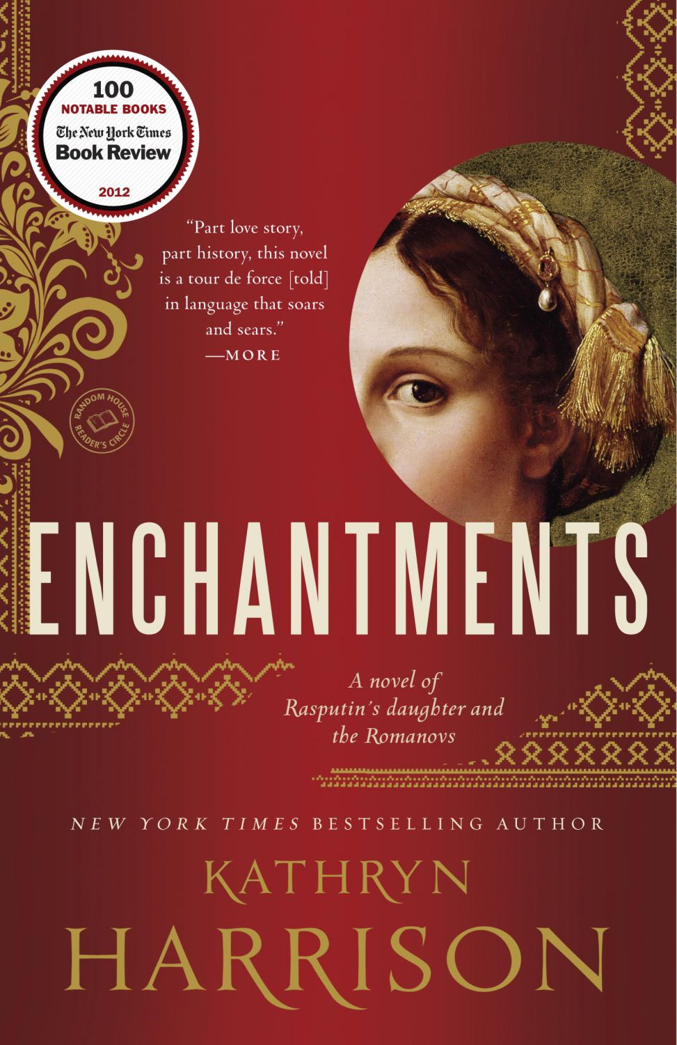 About Enchantments: A Novel Of Rasputin's Daughter And The Romanovs