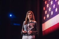 Taya Kyle, Patriot Tour, credit Team Never Quit