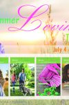 Summer Lovin Social Media Button