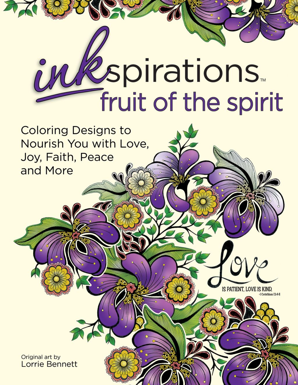 The coloring book tour opener - About Inkspirations Fruit Of The Spirit Coloring Designs To Nourish You With Love Joy Faith Peace And More