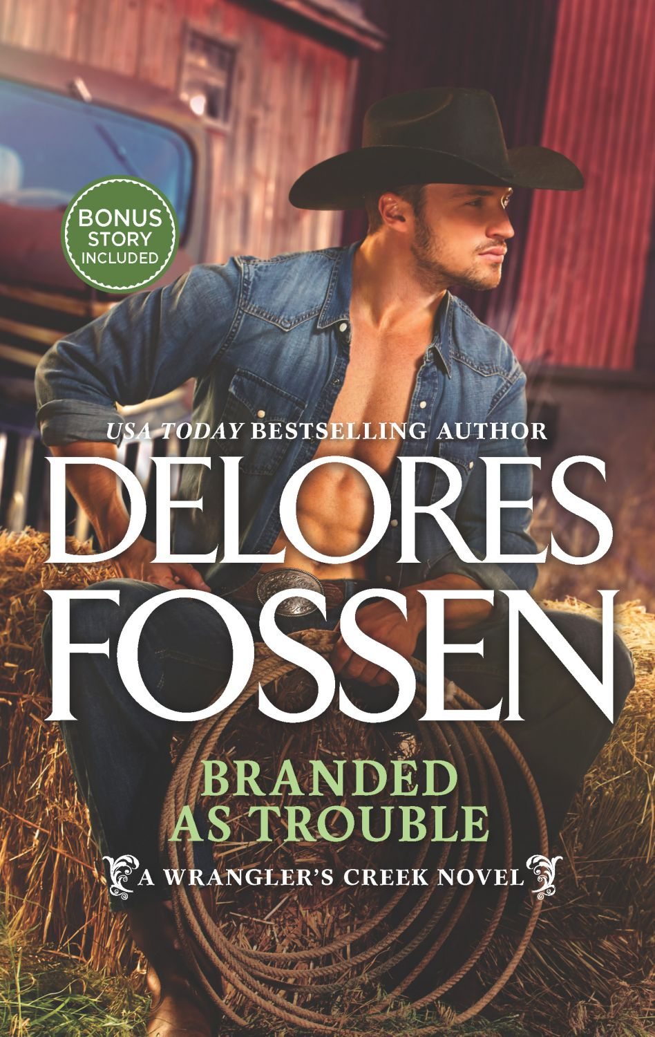 Branded As Trouble Be Delores Fossen