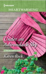 KAREN ROCK UNDER ADIRONDACK SKY COVER