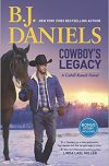 B.J. Daniels, author of COWBOY'S LEGACY, on tour December 2017