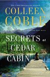 Colleen Coble, author of SECRETS AT CEDAR CABIN, on tour January/February 2019