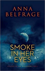 Digital Render of the cover of the novel SMOKE IN HER EYES